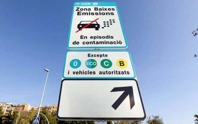 En funcionament la Zona de Baixes Emissions de Barcelona