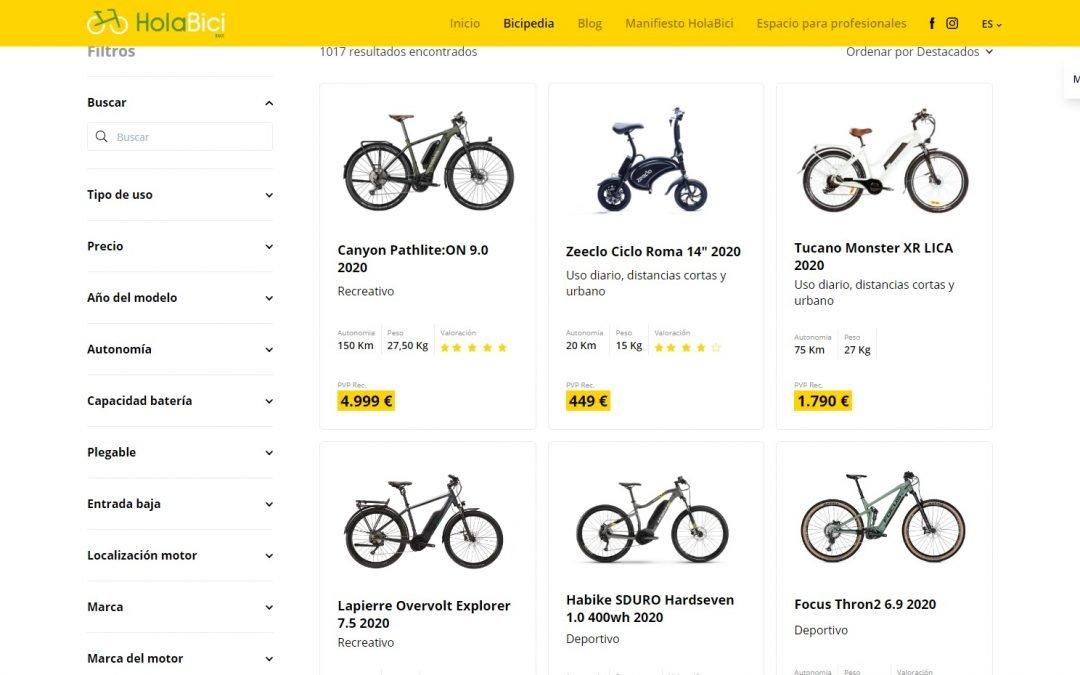 Bicipèdia RACC, l'única enciclopèdia virtual de bicicletes elèctriques a Espanya