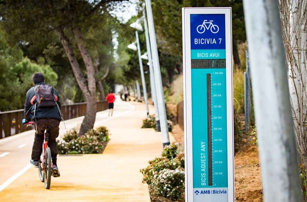 Més carrils bici per connectar millor l'àrea metropolitana de Barcelona