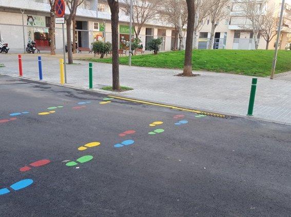 Nou disseny per als camins escolars de l'Hospitalet de Llobregat