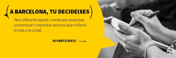 Els ciutadans de Barcelona voten fer projectes de millora dels entorns escolars