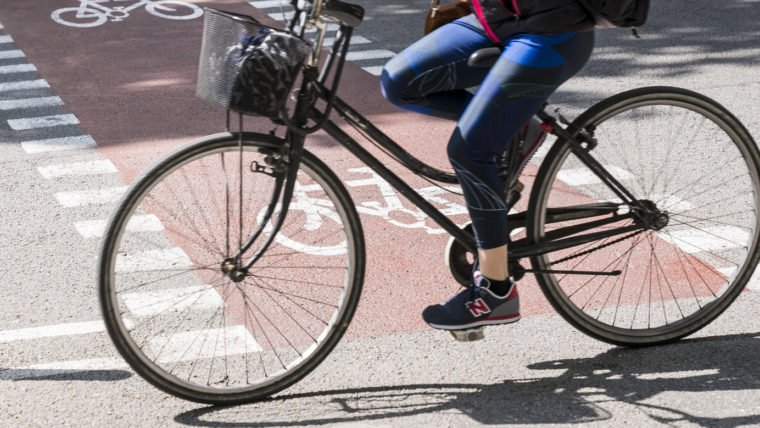 Més xarxa pedalable a Barcelona