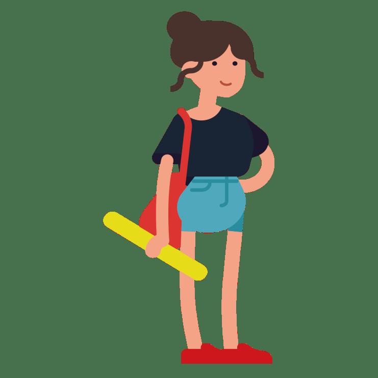 Joves i Mobilitat | noia vianant